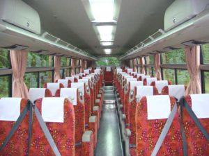 中部観光 大型バス53 車内写真1