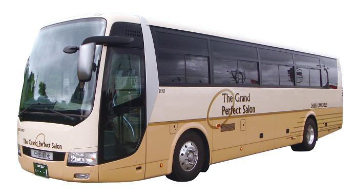 中部観光 大型バス 53-2写真