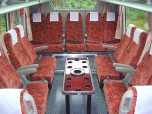 中部観光 大型バス53 車内写真2