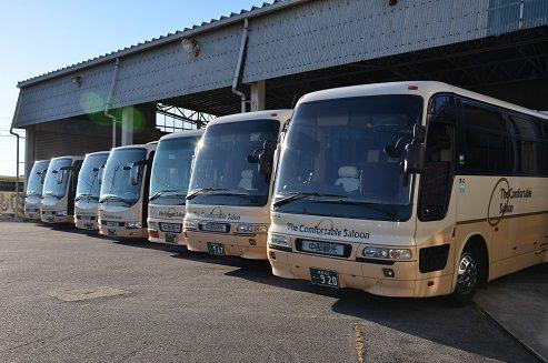 中部観光株式会社 バス車庫 写真